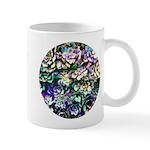 Colorful Abstract Plants Mugs