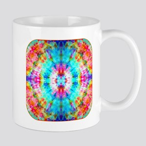 Rainbow Sunburst Mugs