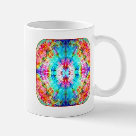 Rainbow Sunburst Mugs