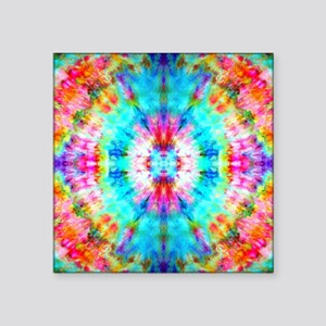 Rainbow Sunburst Sticker
