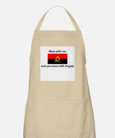 Mess with me and mess with An BBQ Apron