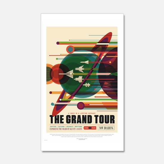 Grand Tour - Retro Space Travel Wall Decal