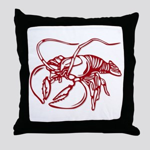 This is my lobster shirt Throw Pillow