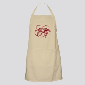 This is my lobster shirt Apron