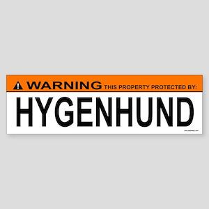 HYGENHUND Bumper Sticker