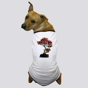Red Leaf Bonsai Dog T-Shirt