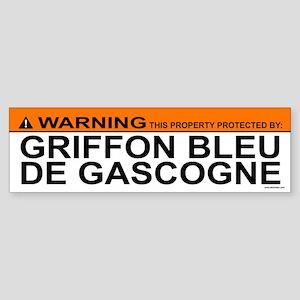 GRIFFON BLEU DE GASCOGNE Bumper Sticker