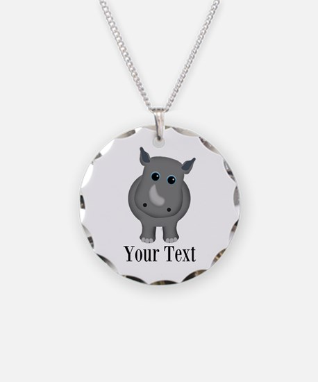 Rhino Baby Necklace
