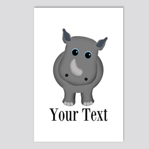 Rhino Baby Postcards (Package of 8)