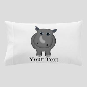 Rhino Baby Pillow Case