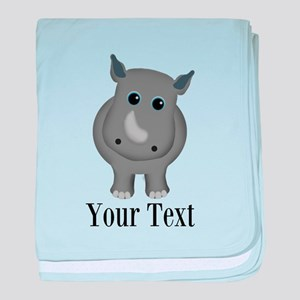 Rhino Baby baby blanket
