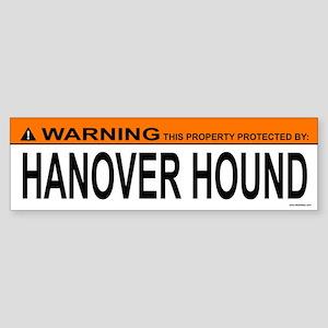HANOVER HOUND Bumper Sticker