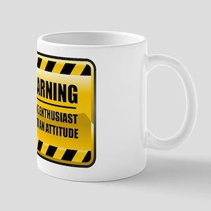 Warning Wine Enthusiast Mug