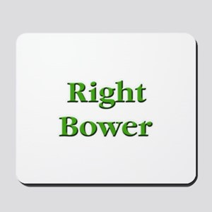 Right Bower Euchre Mousepad
