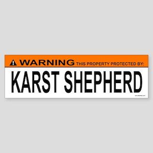 KARST SHEPHERD Bumper Sticker