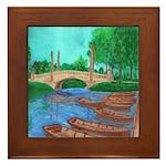 Dreyfus Bridhe, City Park Framed Tile