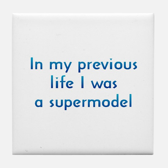PL Supermodel Tile Coaster
