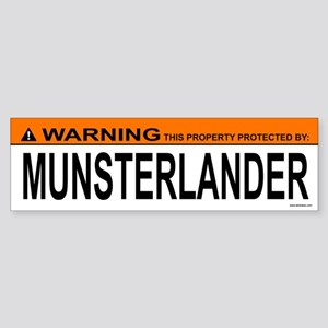 MUNSTERLANDER Bumper Sticker