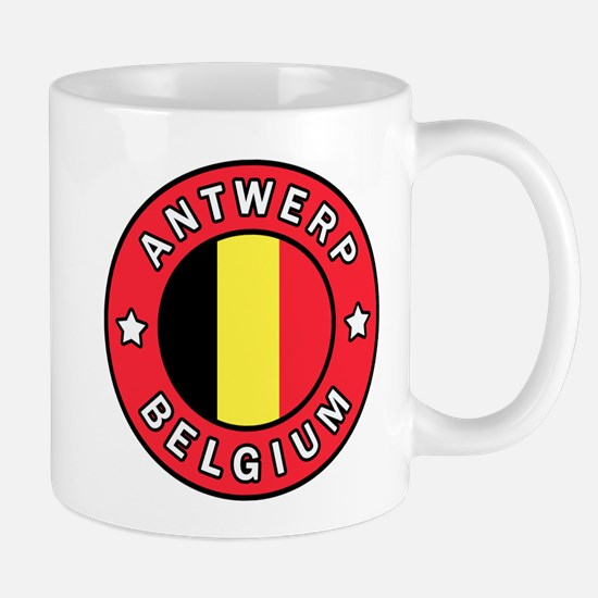 Antwerp Belgium Mugs