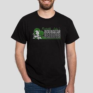 Fertilizer We give a crap Dark T-Shirt