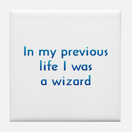 PL Wizard Tile Coaster