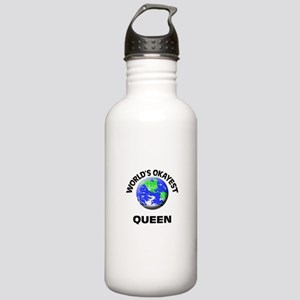 World's Okayest Queen Stainless Water Bottle 1.0L