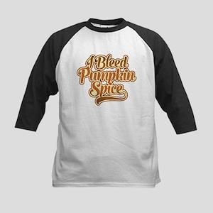 I Bleed Pumpkin Spice Baseball Jersey