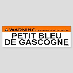 PETIT BLEU DE GASCOGNE Bumper Sticker