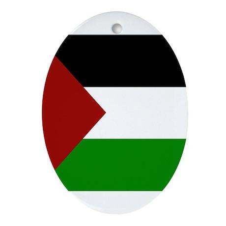 Palestine Oval Ornament