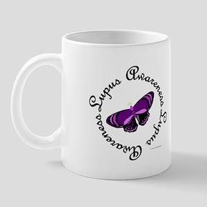 Butterfly Awareness 4 (Lupus) Mug