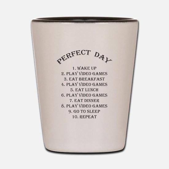 Perfect day Shot Glass