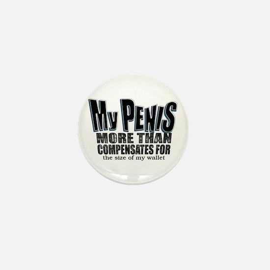 My Penis Mini Button