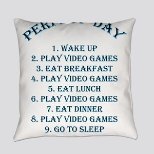 Perfect day Everyday Pillow