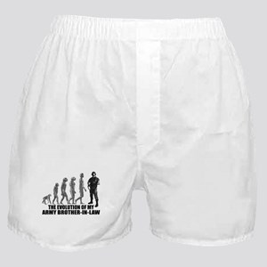 Evolution - My Army Bro-n-Law Boxer Shorts