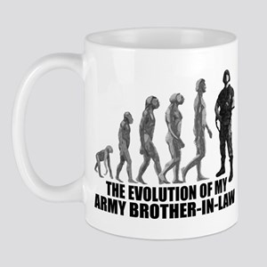 Evolution - My Army Bro-n-Law Mug