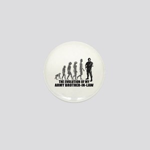 Evolution - My Army Bro-n-Law Mini Button