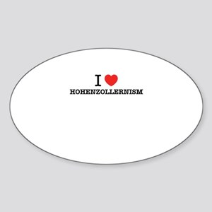 I Love HOHENZOLLERNISM Sticker