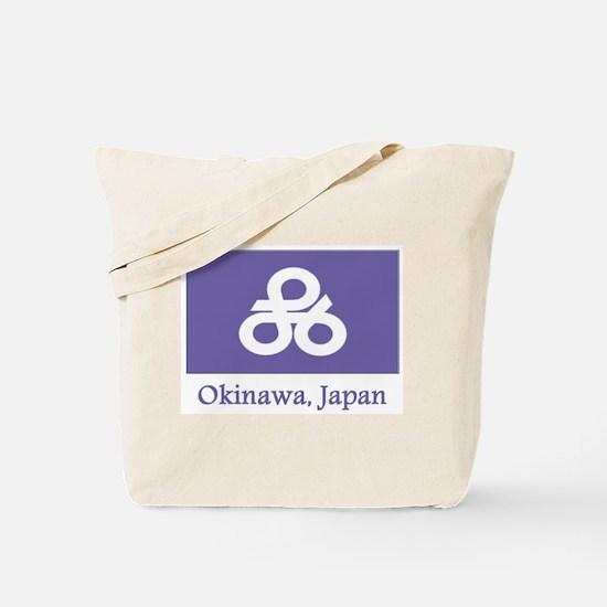 Okinawa JP Flag Tote Bag