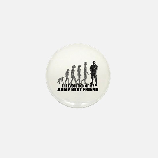 Evolution - My Army Best Friend Mini Button