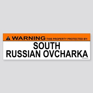 SOUTH RUSSIAN OVCHARKA Bumper Sticker