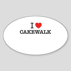I Love CAKEWALK Sticker