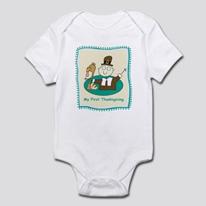 My First Thanksgiving Infant Bodysuit