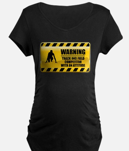 Warning Track and Field Competitor T-Shirt