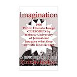 Imagination Rectangle Sticker
