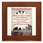 Imagination Framed Tile