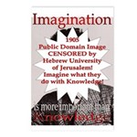 Imagination Postcards (Package of 8)