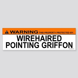 WIREHAIRED POINTING GRIFFON Bumper Sticker