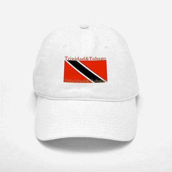 Trinidad & Tobago Flag Baseball Baseball Cap