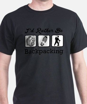 I'd Rather Be Backpacking T-Shirt