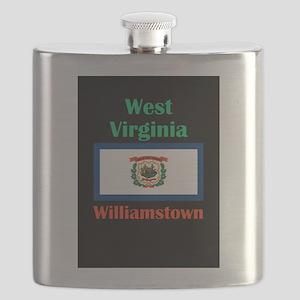 Williamstown West Virginia Flask